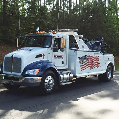 Ivey's Towing & Transport - Garner, NC - Auto Towing & Wrecking
