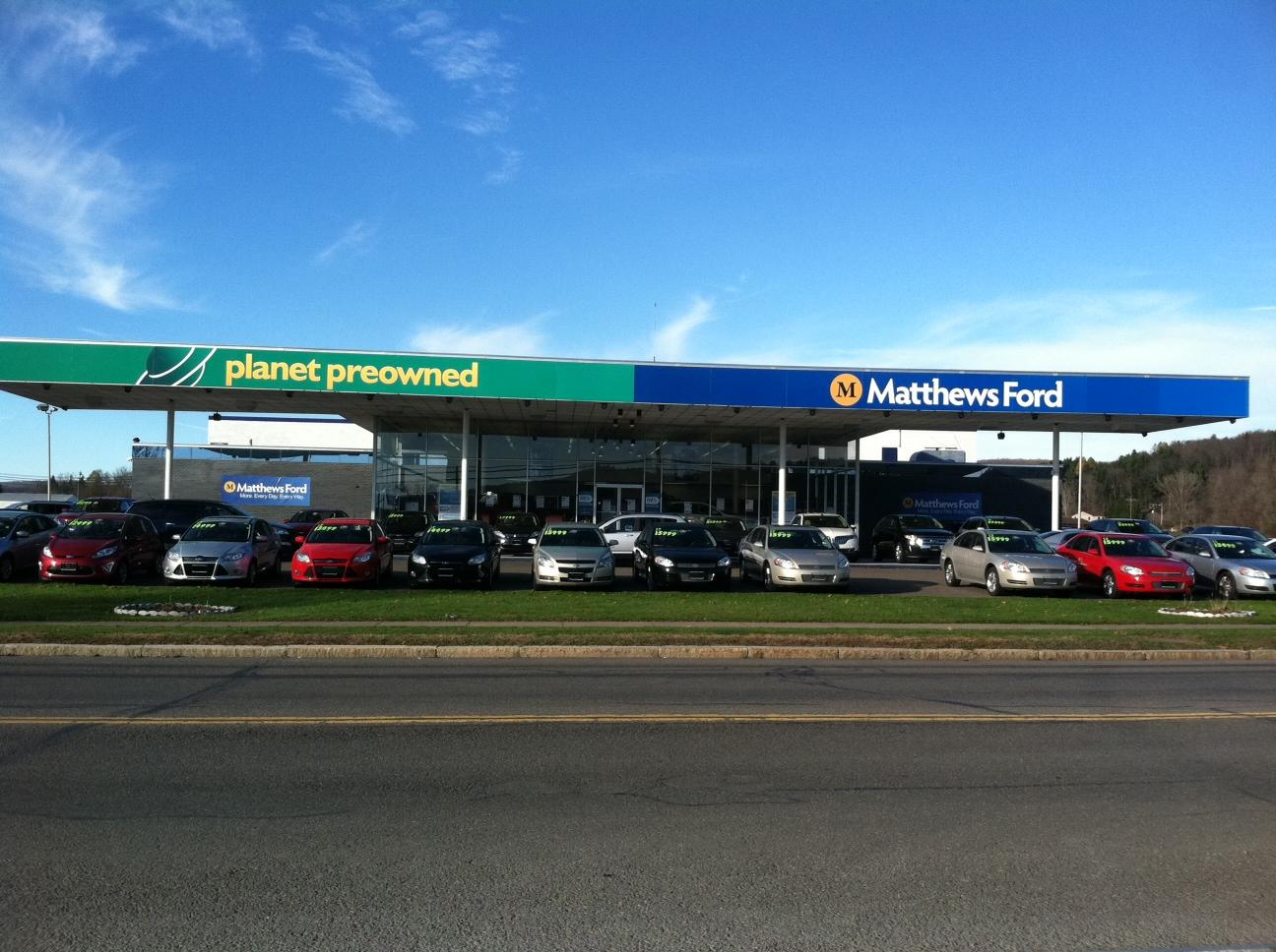 Matthews Ford Planet PreOwned in Norwich, NY 13815 ...