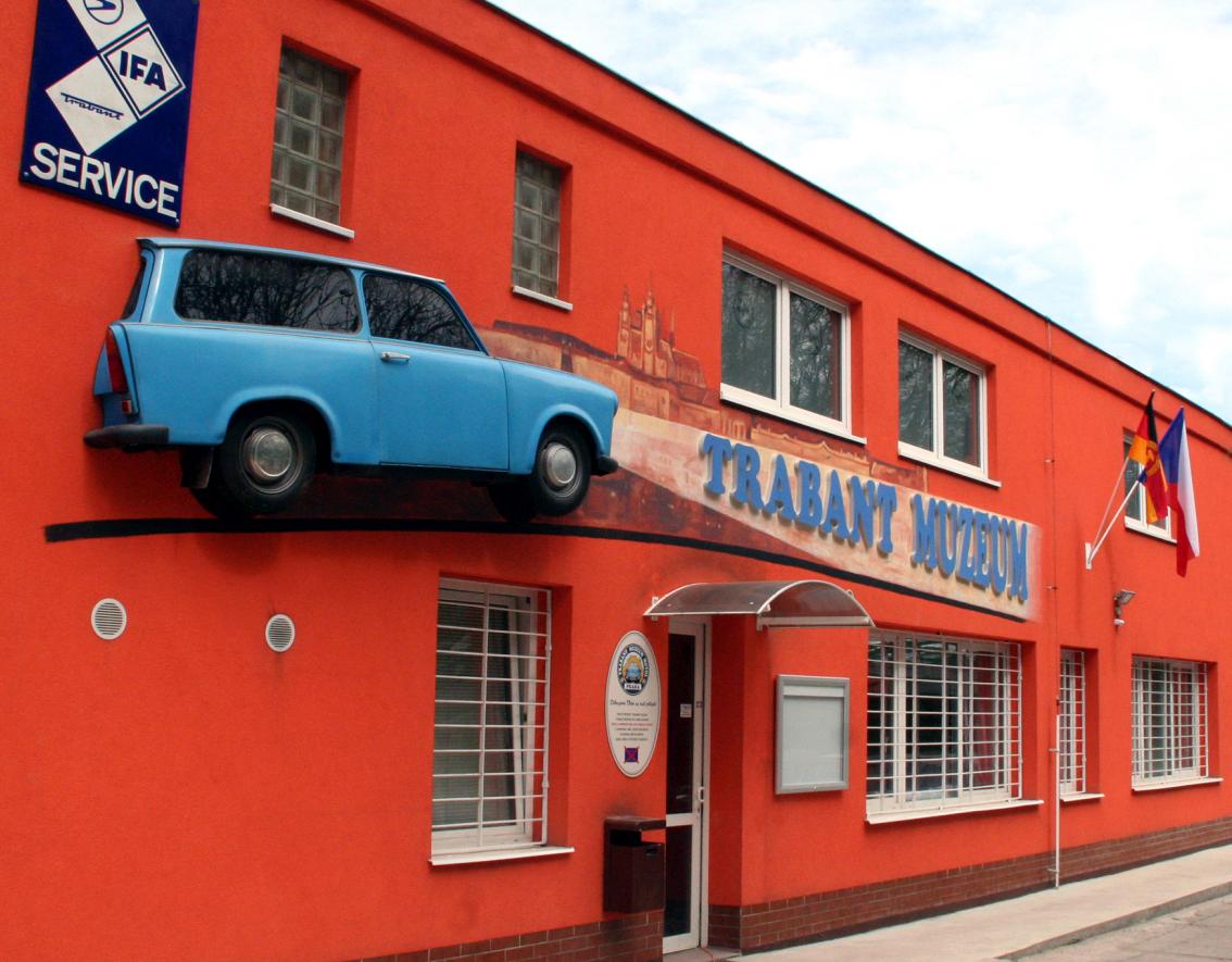 Trabant muzeum Praha Motol