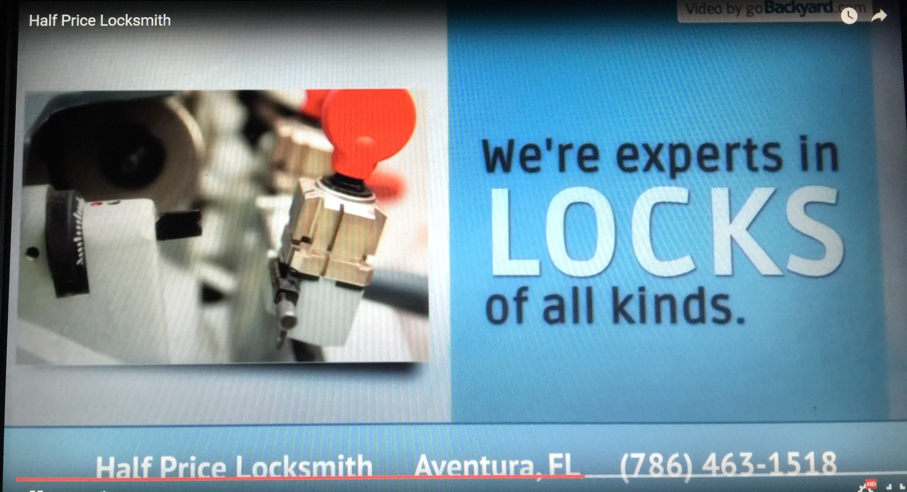 Locksmith in hollywood fl