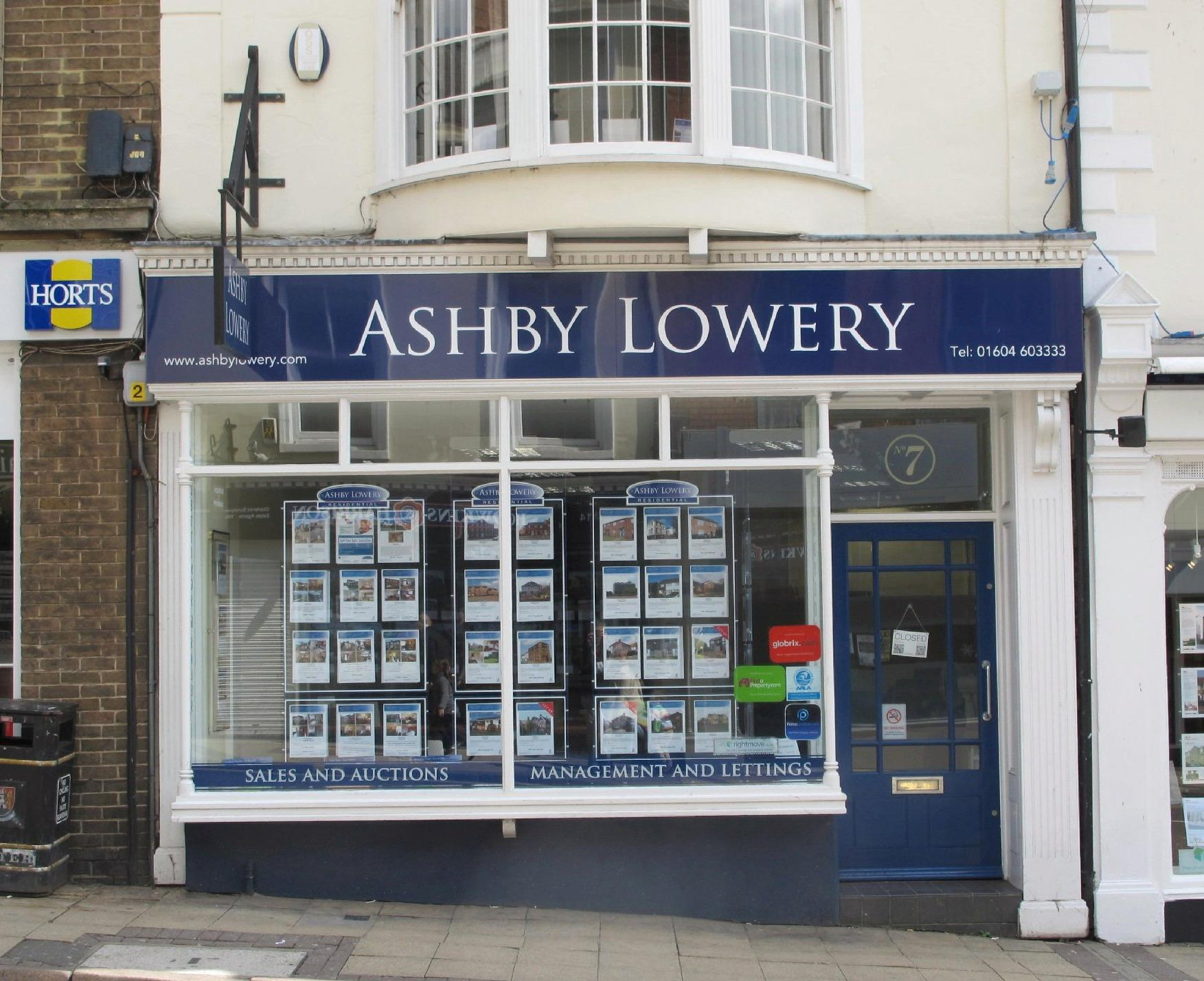 Ashby Lowery Lettings Northampton 01604 930348