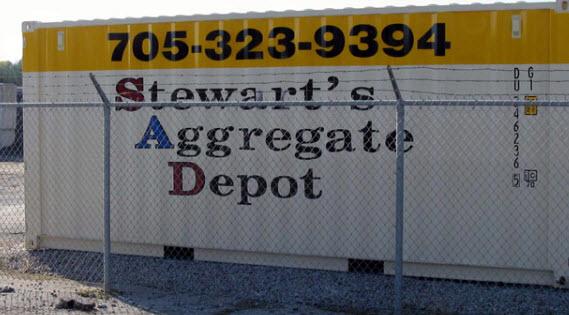 Stewart's Aggregate Depot