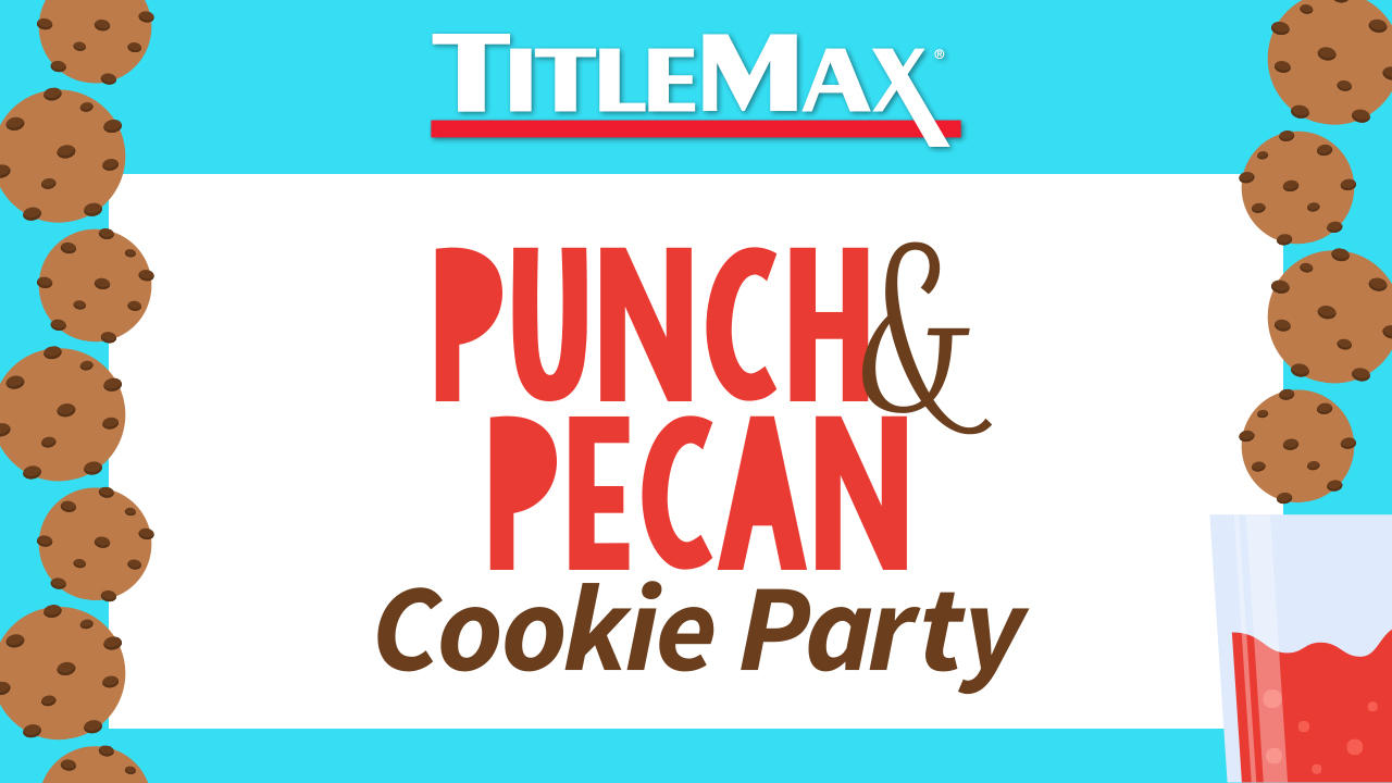Punch & Pecan Cookie Day at TitleMax Statesboro, GA 1