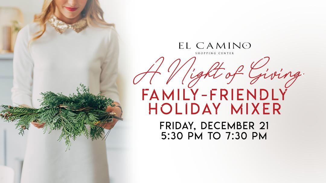 El Camino Shopping Center Holiday Mixer