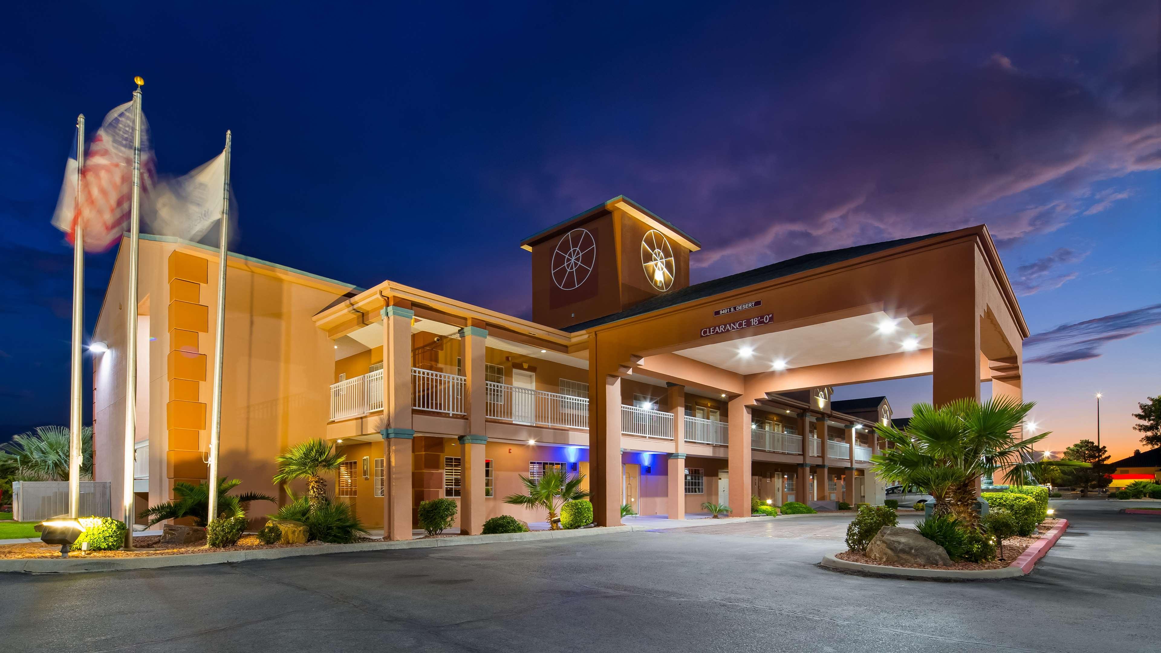 Anthony Tx Motels