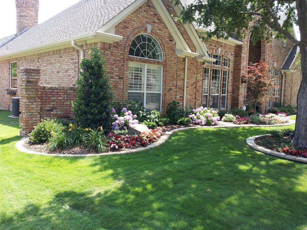 Plm professional landscape management carrollton texas for Professional landscaping