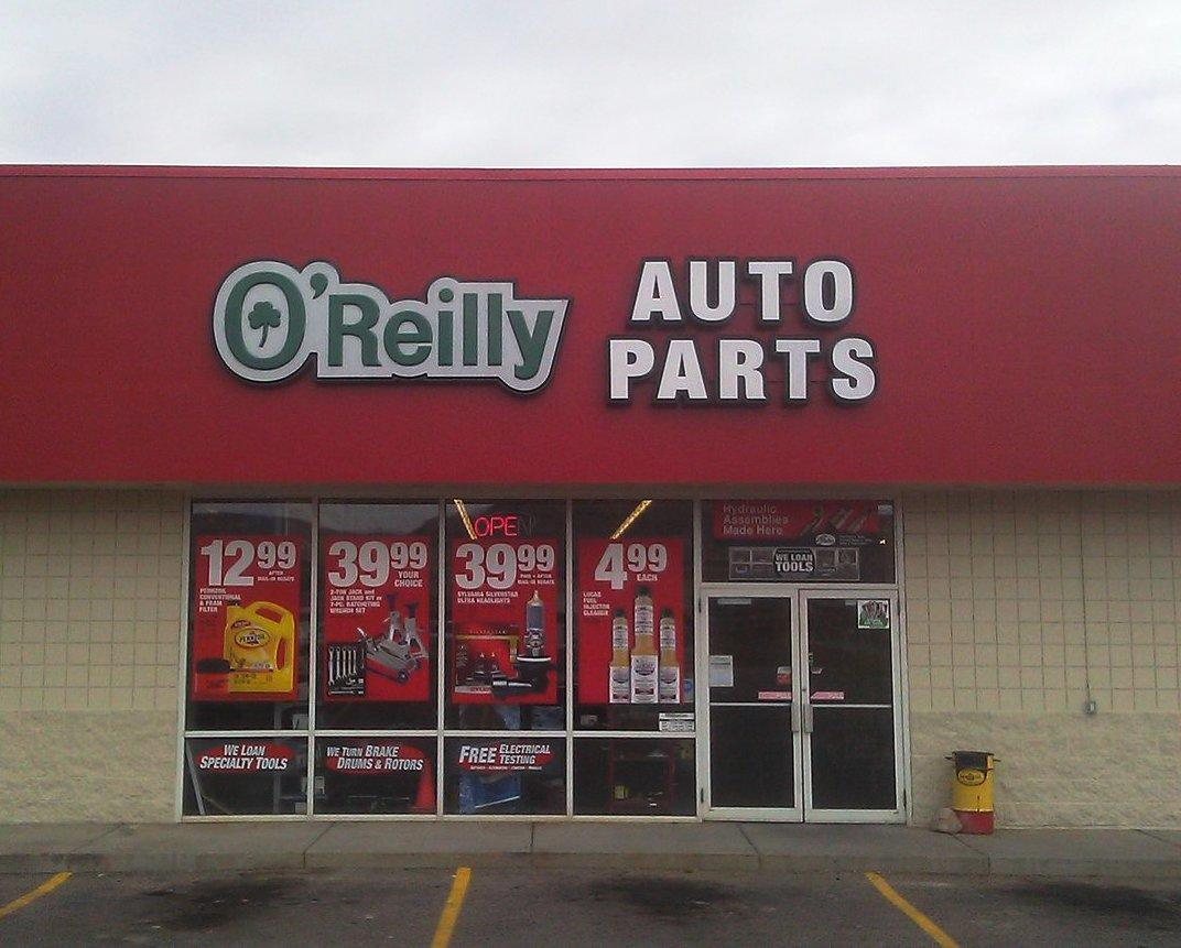 O 39 Reilly Auto Parts Richfield Utah Ut