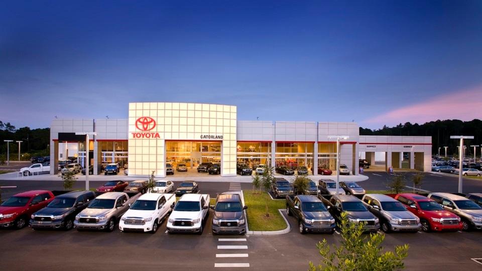 Gatorland Toyota In Gainesville Fl Auto Dealers Yellow