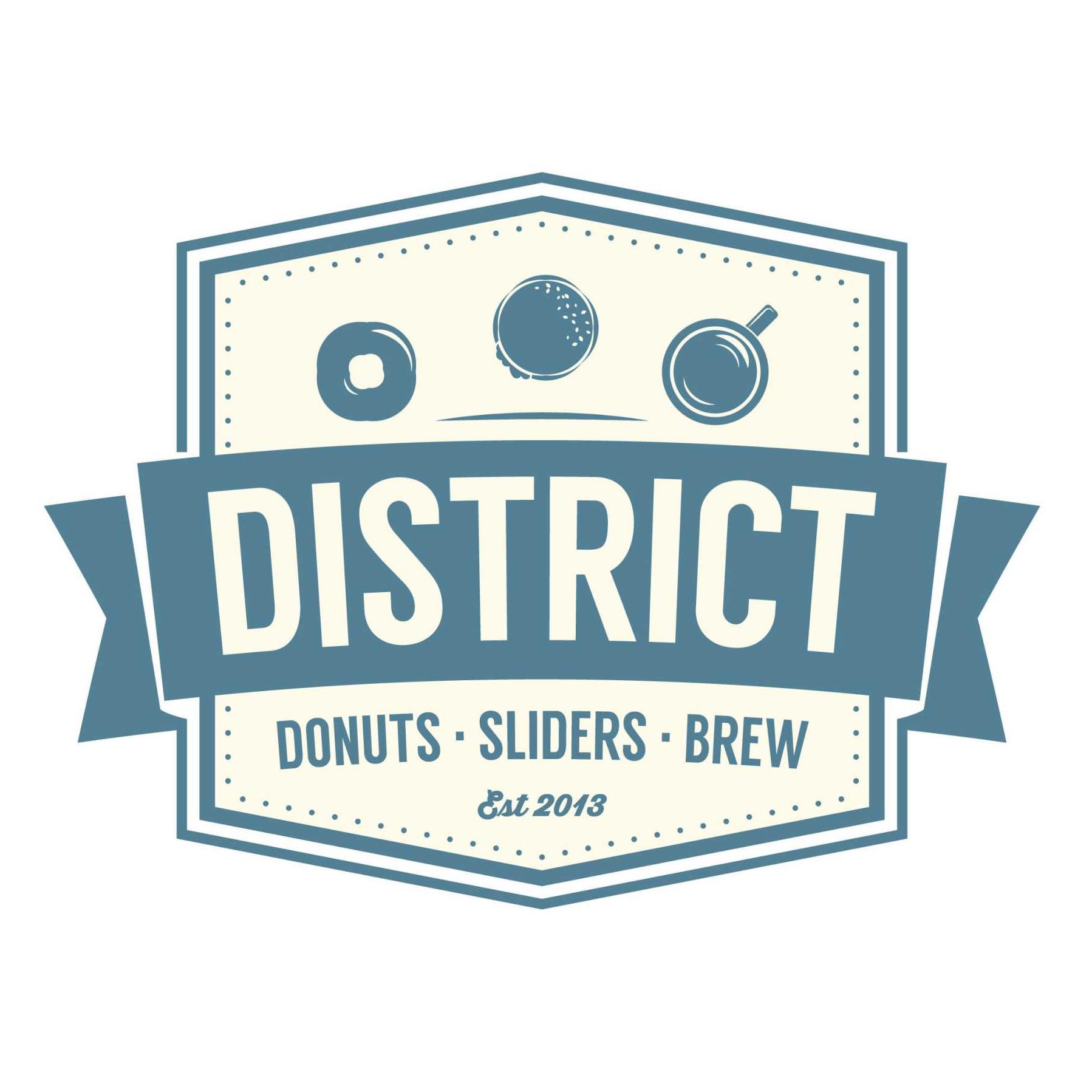 District: Donuts. Sliders. Brew.