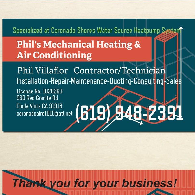 Phil's Mechanical Heating & Air Conditioning