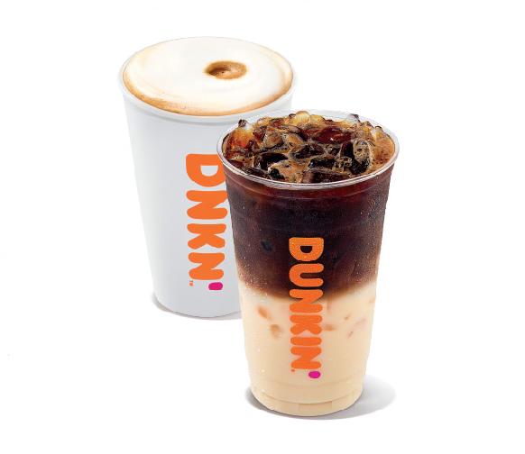 Dunkin' Hot Macchiato and Iced Macchiato
