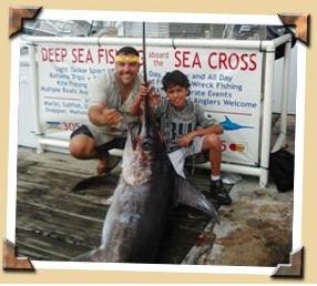 Seacross miami deep sea fishing charters coupons near me for Fishing beaches near me
