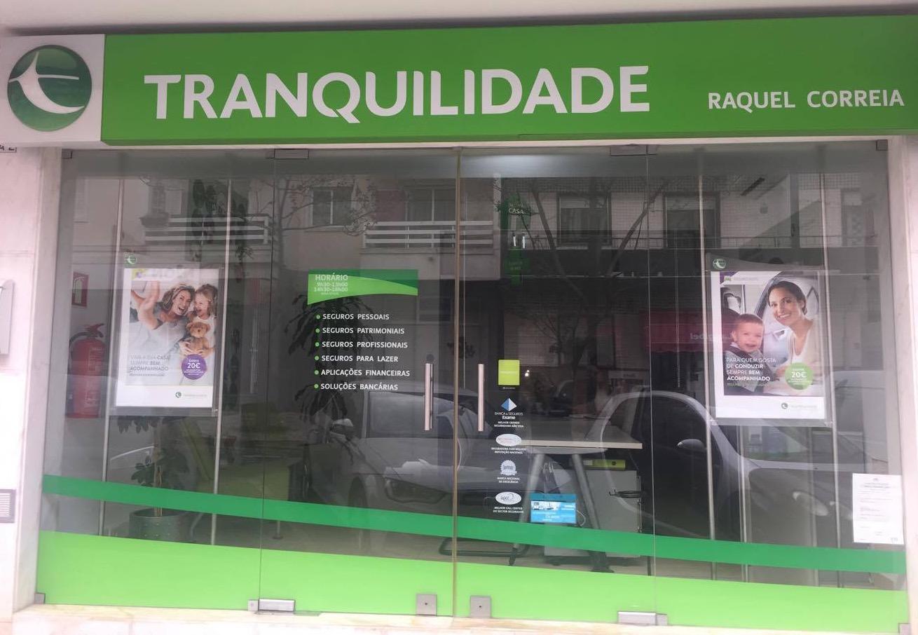 TRANQUILIDADE: Agente Raquel Correia Mediação Seguros Unipessoal Lda.