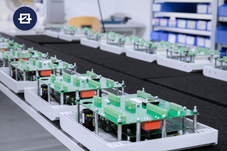GESAS Regelungselektronik für mobile Betonmischer Heckkasten