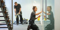 There are many benefits to going with a professional office cleaning company.
