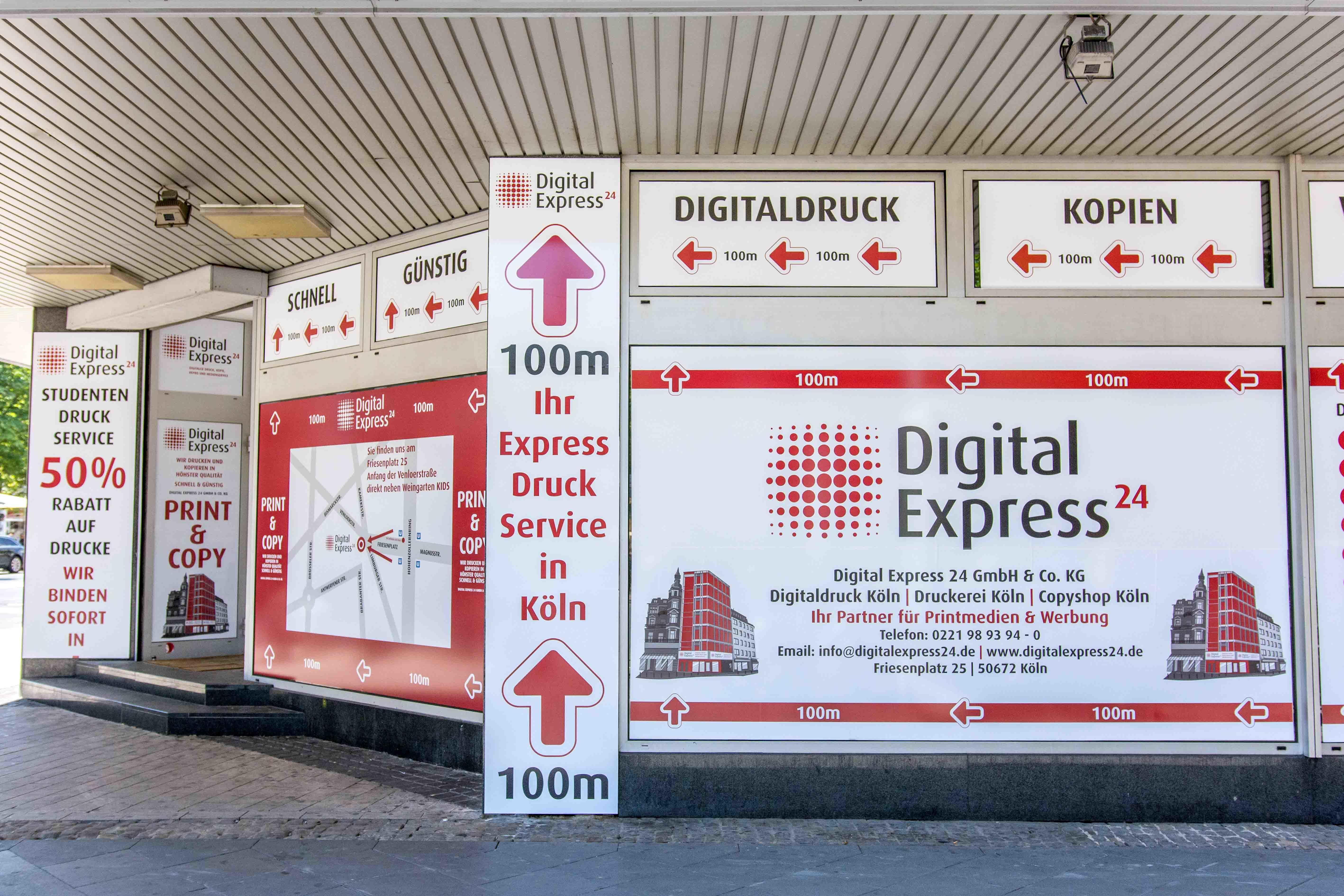 Fotos de Express Druckerei+Copyshop Nr. 1 in Köln: Digital Express 24
