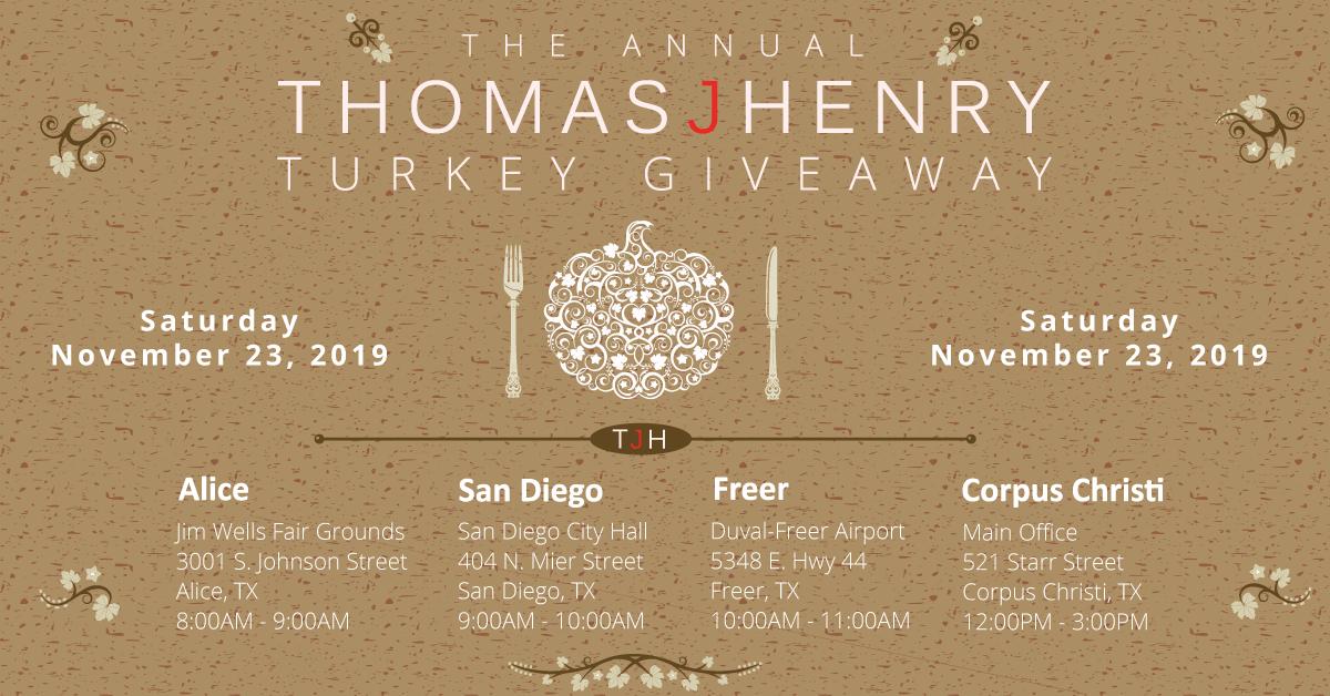 Thomas J. Henry Turkey Giveaway