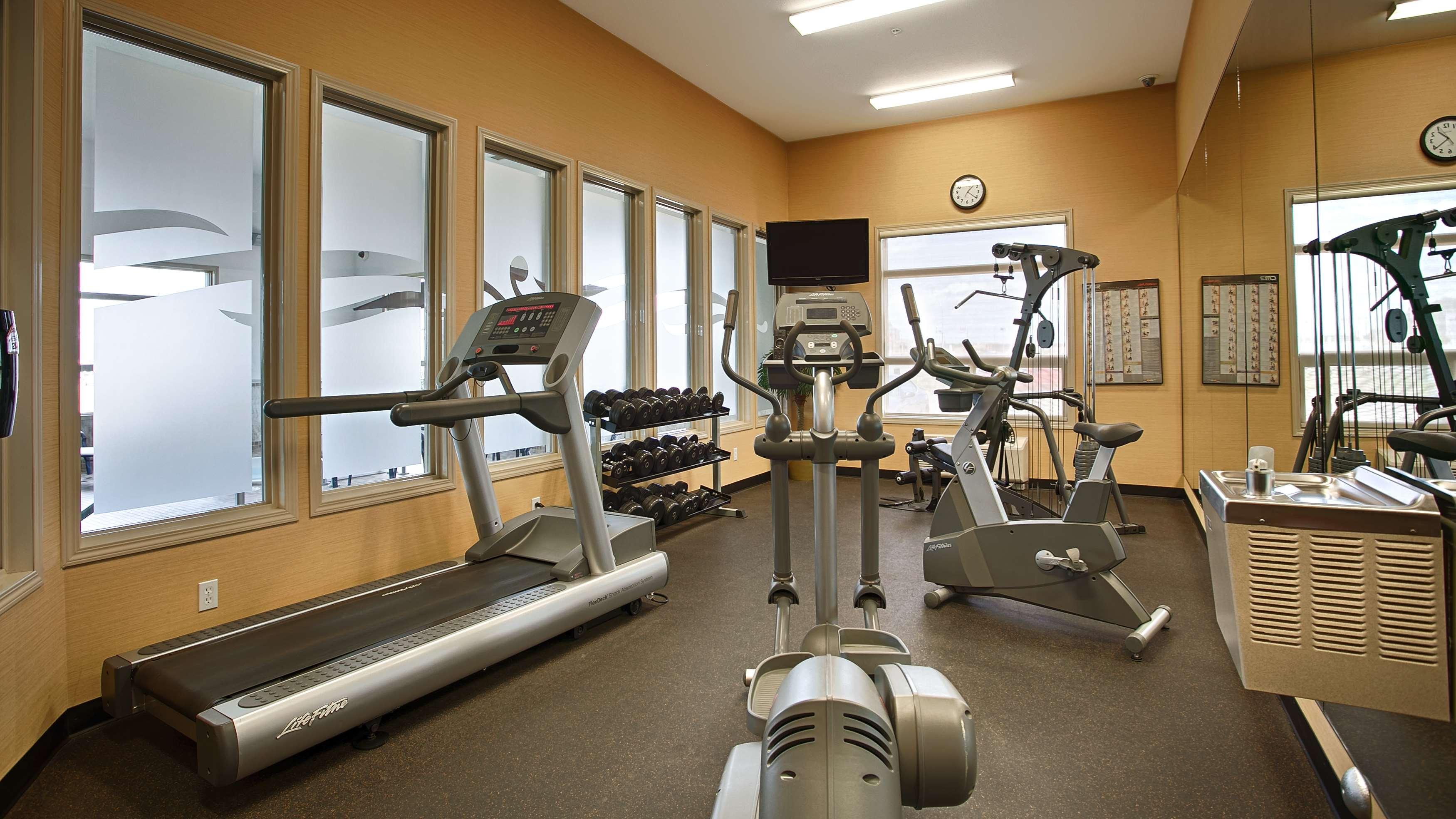 Fitness Center Best Western Wainwright Inn & Suites Wainwright (780)845-9934