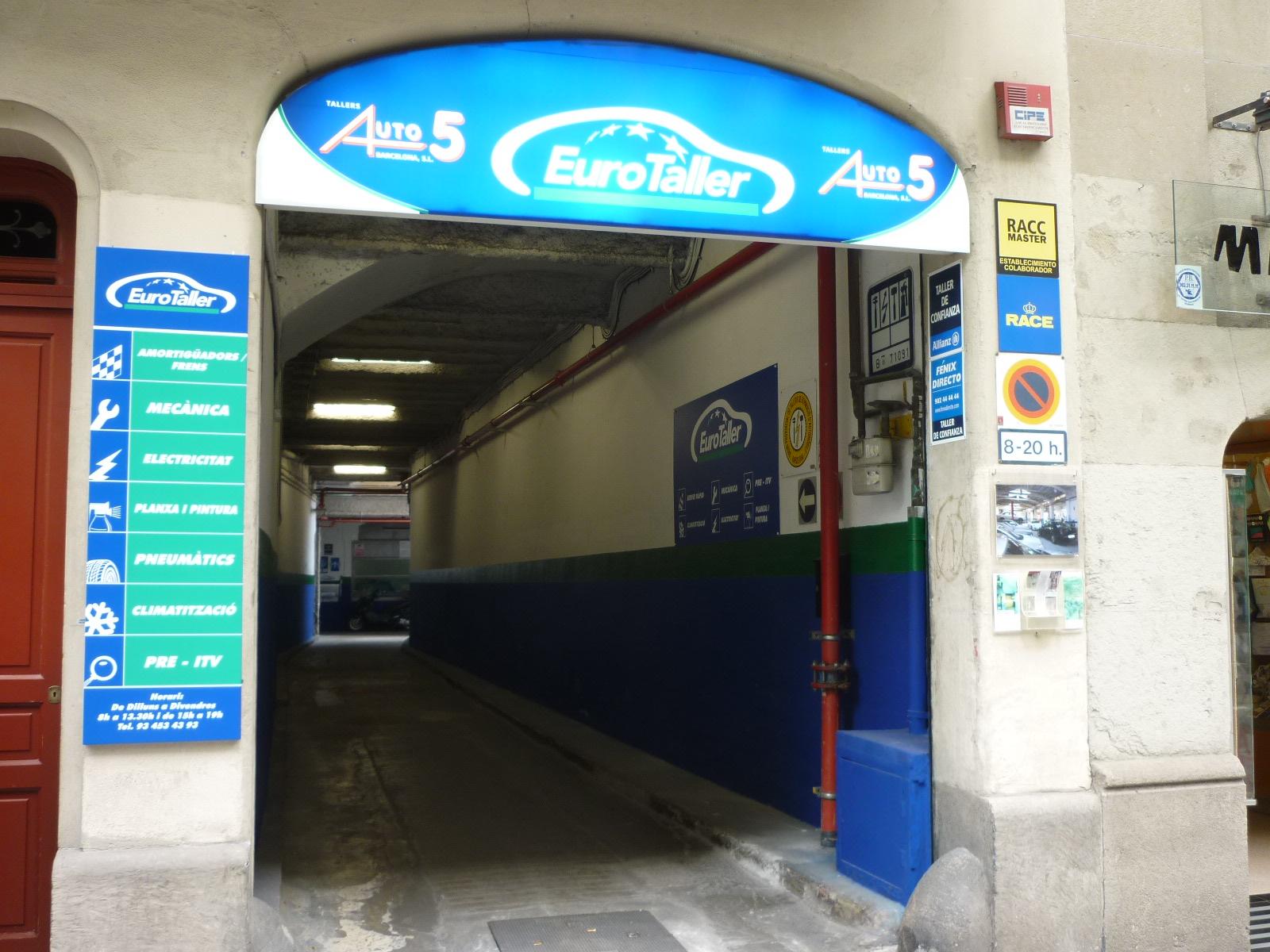 Talleres Auto 5 Barcelona