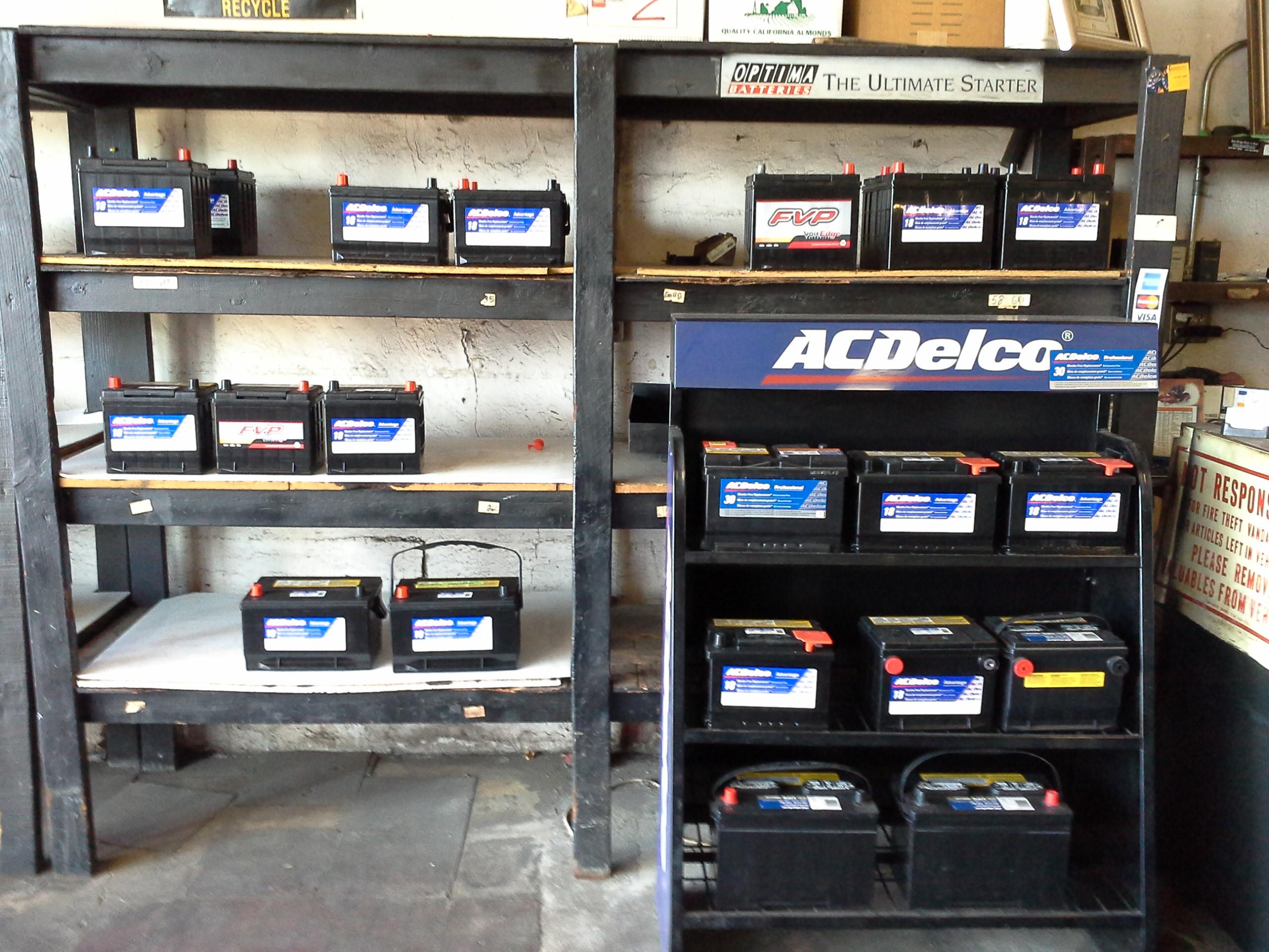 car batteries, El Cajon, CA
