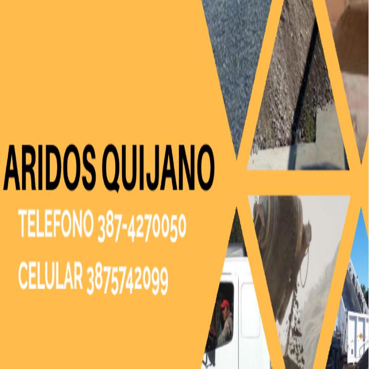 ARIDOS QUIJANO SRL