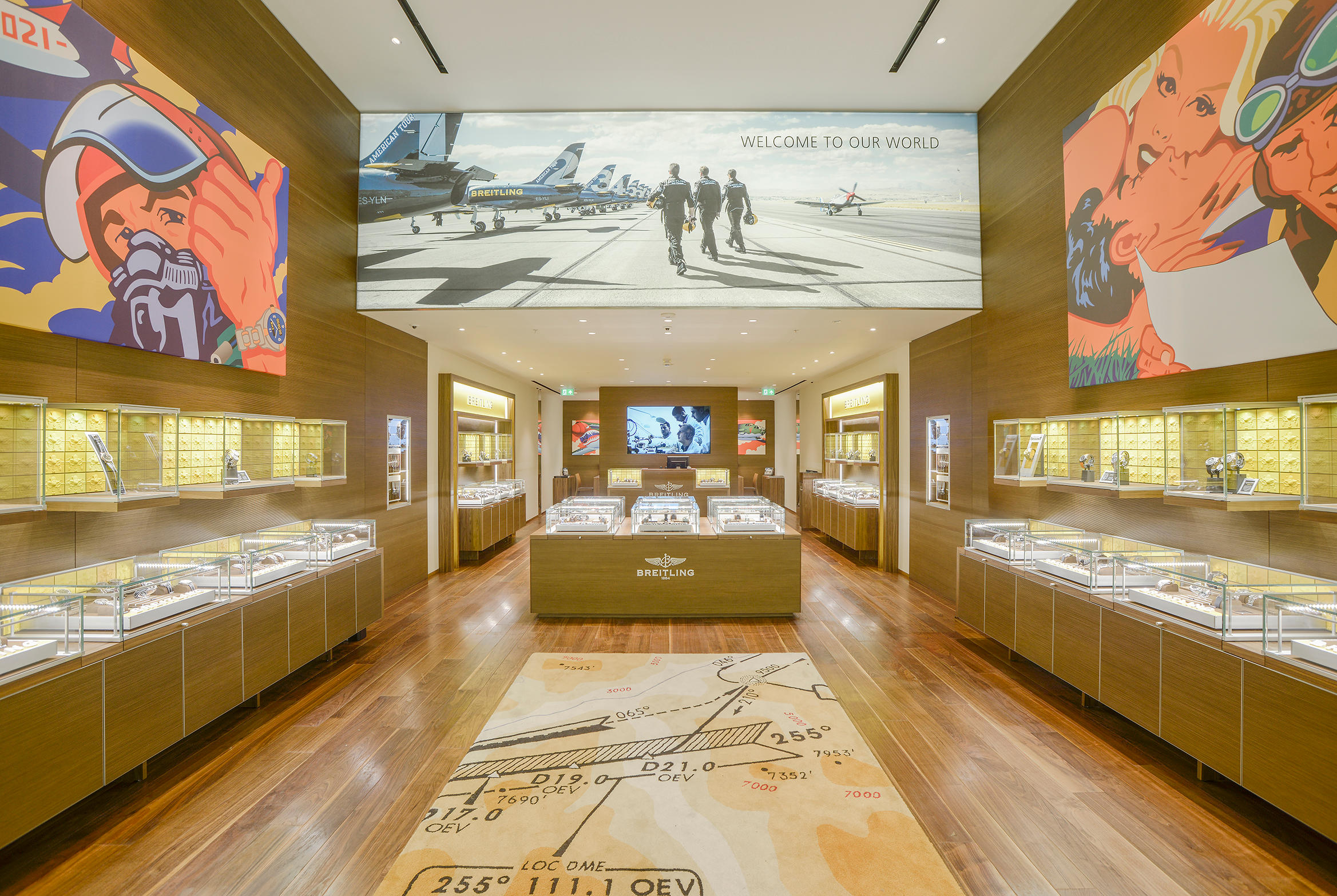 BREITLING BOUTIQUE MANCHESTER TRAFF