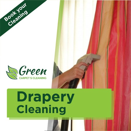 Drapes & Curtain Cleaning Service - Green Carpet's Cleaning