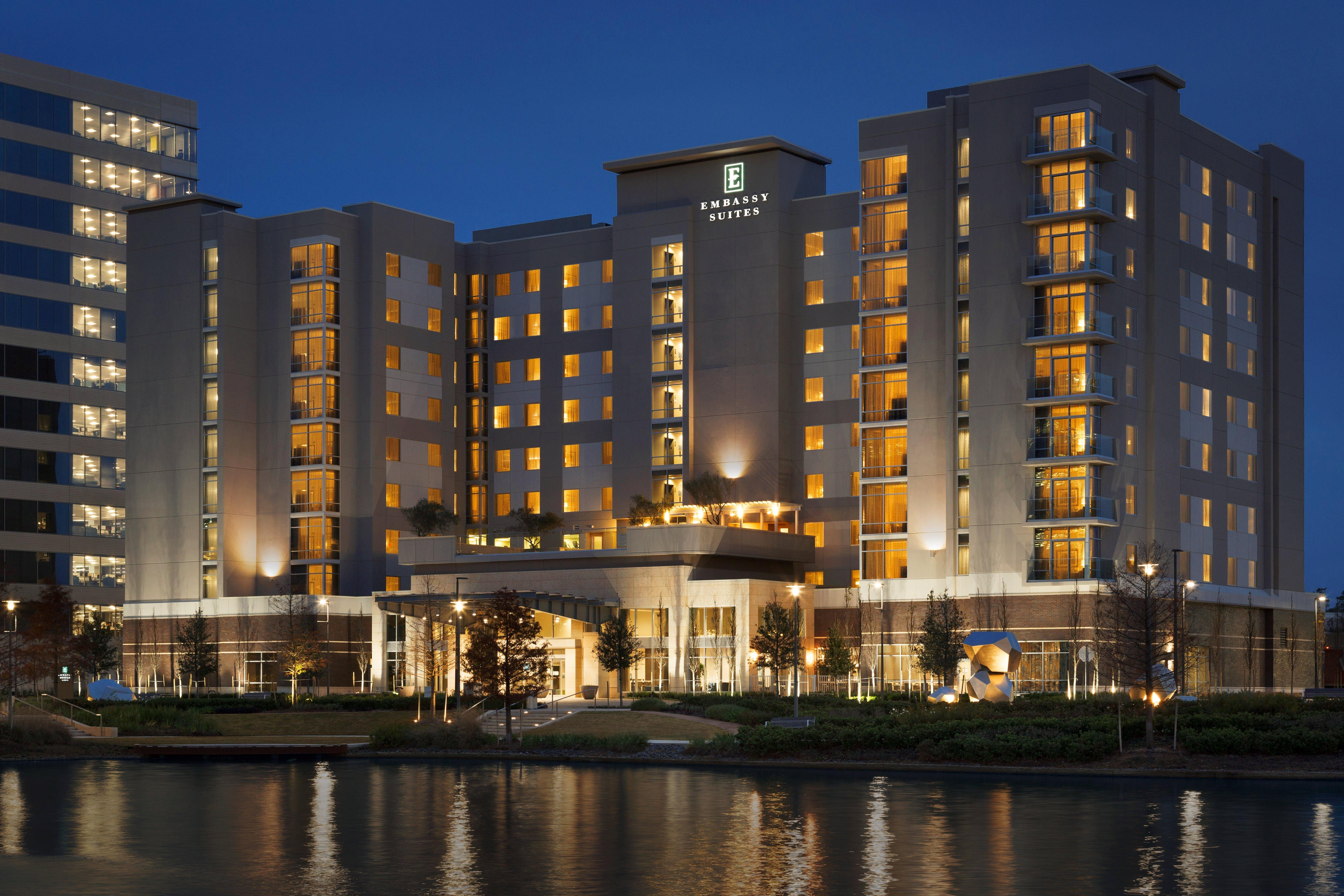 Embassy Suites By Hilton The Woodlands At Hughes Landing The Woodlands Texas Tx