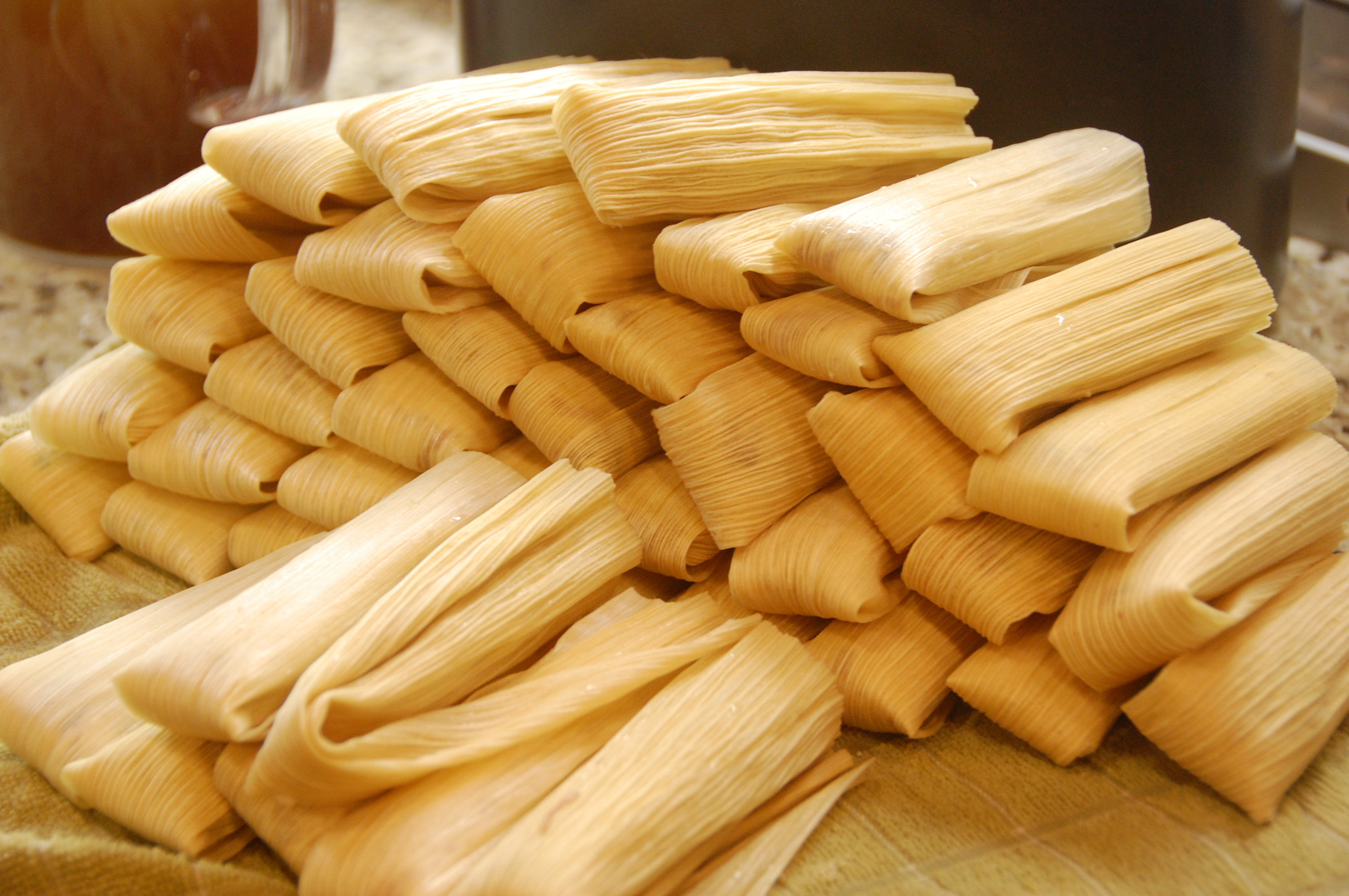 Fresh homemade tamales is one of the many unique items offered through the years.