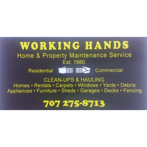 Working Hands Home and Property Maintenance Services