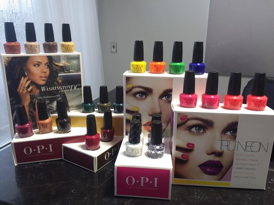 Wispers Hair & Day Spa in Cambridge: OPI Nail Polish