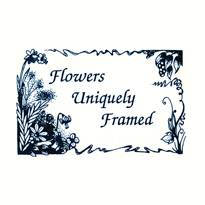 Flowers Uniquely Framed