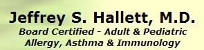 Dr. Jeffrey S. Hallett, M.D.
