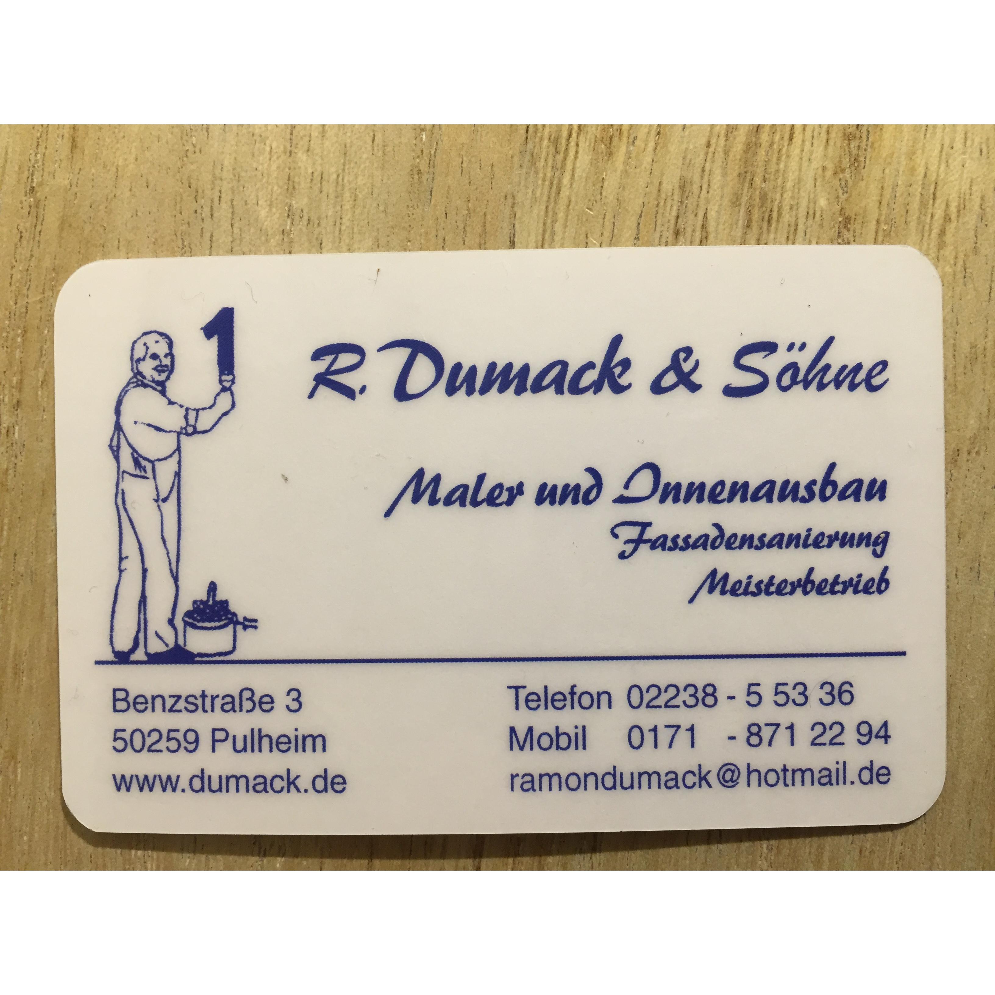 Bild zu R.Dumack- Malerwerkstätten- Fliesen, Innenausbau,Fassaden in Pulheim
