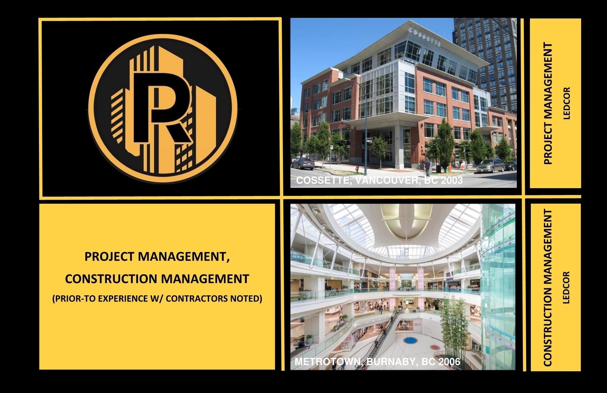 Raudales Enterprise LTD in Vancouver: General Contracting Project Management Construction Management Tenant Improvements