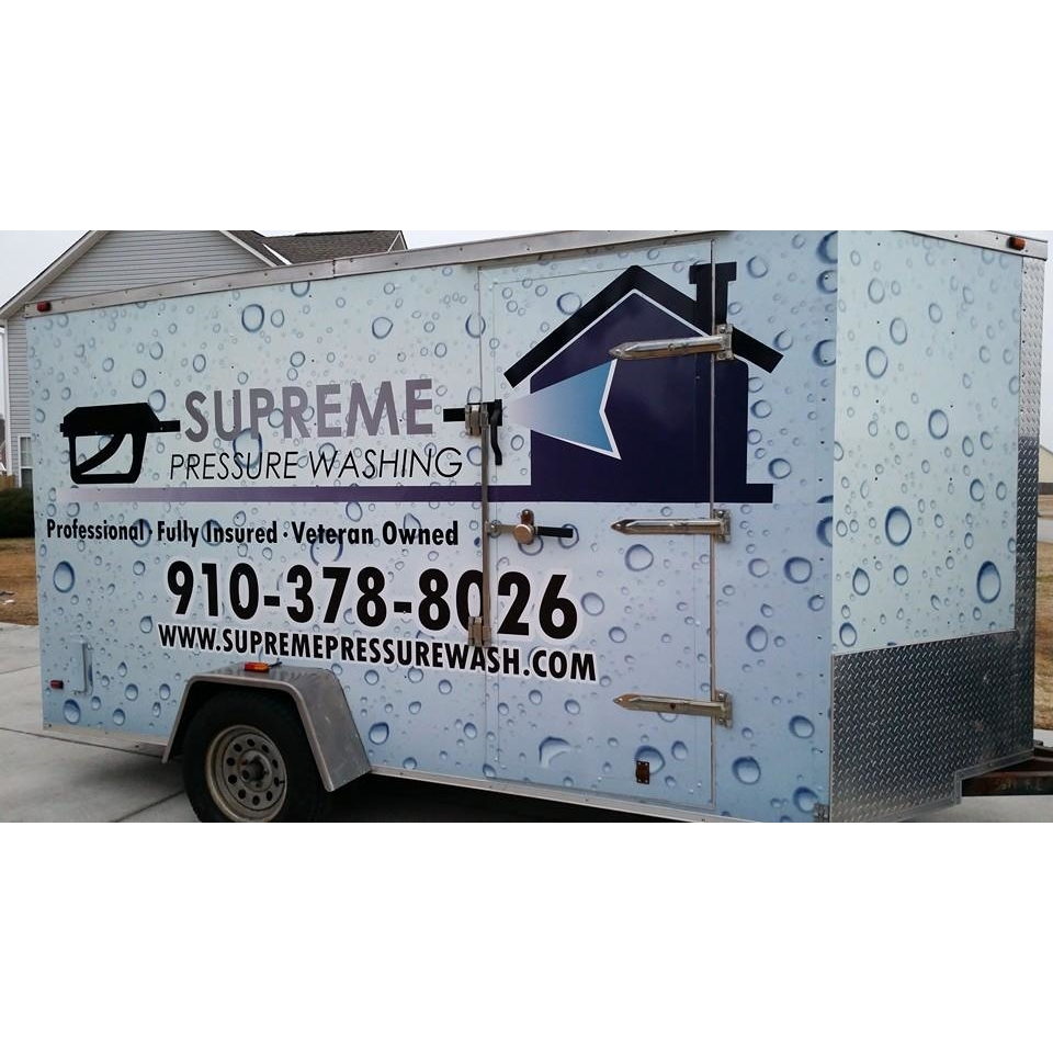 Supreme Pressure Washing - Jacksonville, NC - House Cleaning Services