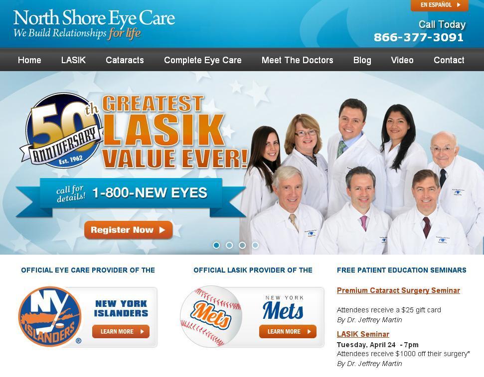 North Shore Eye Care - ad image