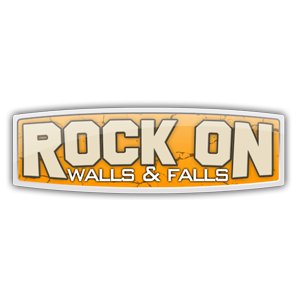 Rock on Walls and Falls Logo