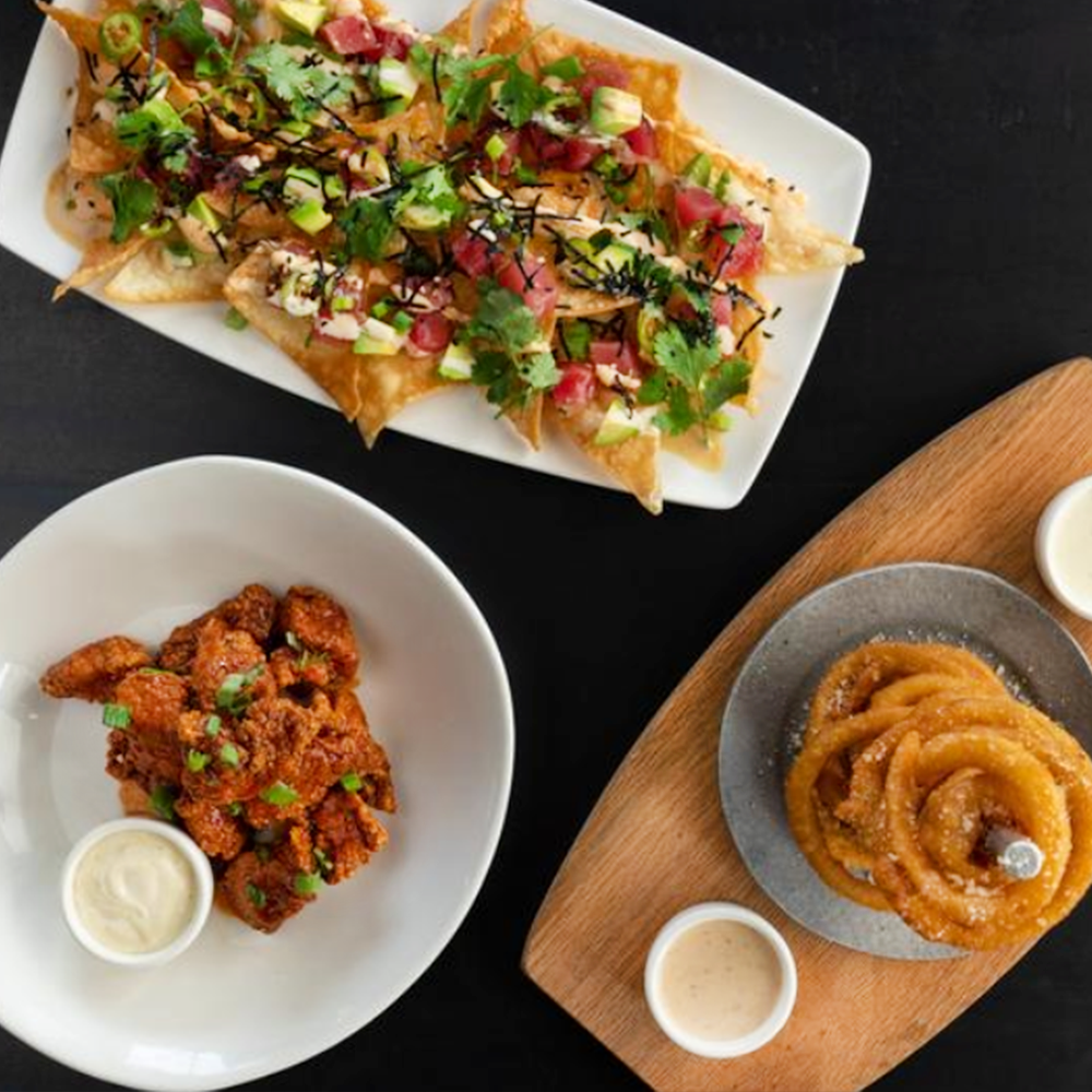 To share, or not to share? Either way, our snacks and appetizers are too good to pass up.