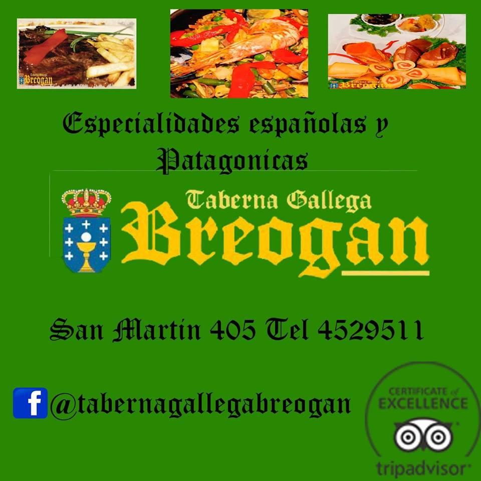 TABERNA GALLEGA BREOGAN Logo