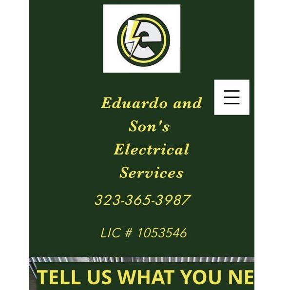 Eduardo And Sons Electric Services - East Los Angeles, CA 90022 - (323)365-3987   ShowMeLocal.com