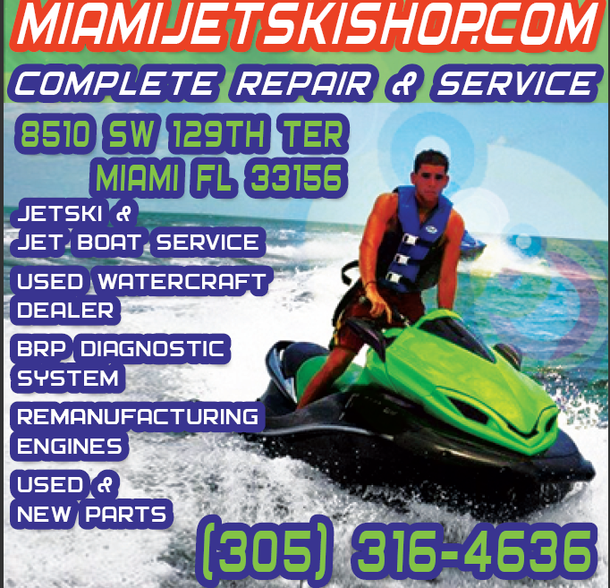 Miami's Jet Ski Shop