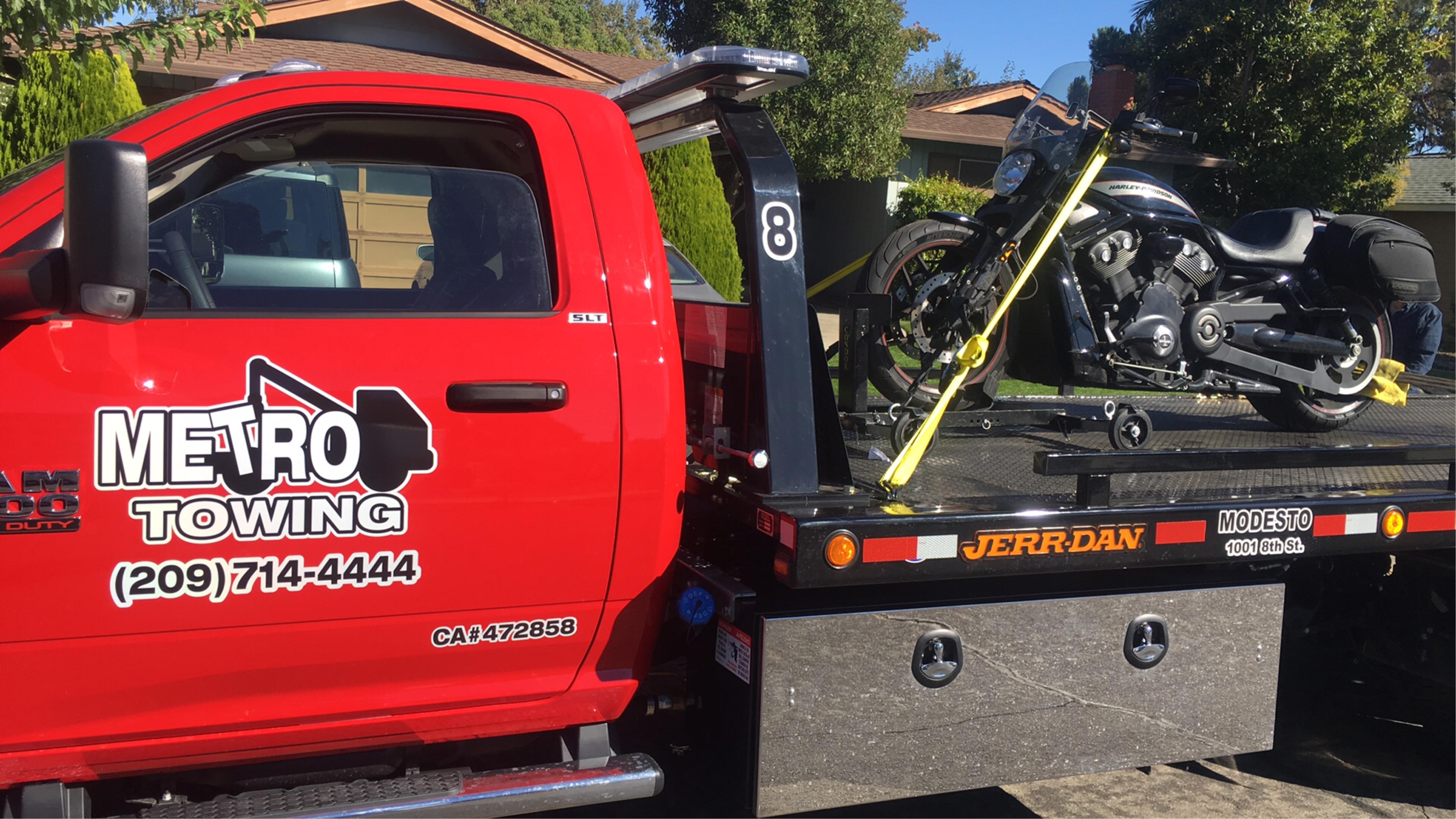 Tire Repair Near Me Open Sunday >> Metro Towing, Tracy California (CA) - LocalDatabase.com