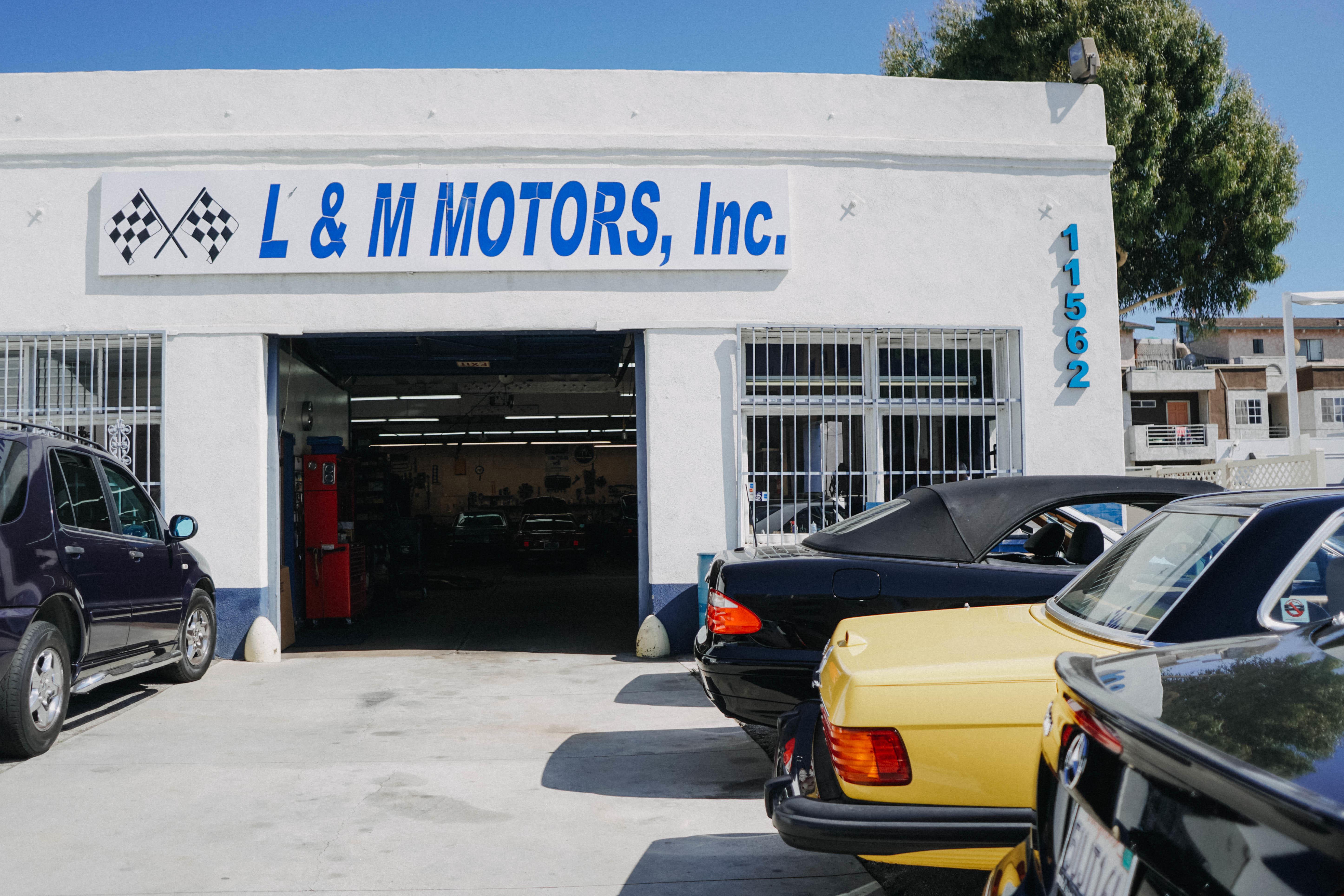 L m motors los angeles california ca for Mercedes benz service santa monica