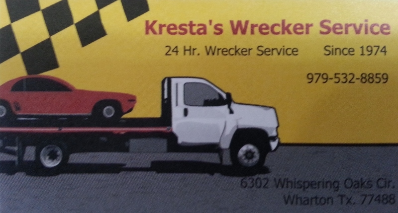 Kresta's Wrecker Service , Towing, & Recovery - ad image