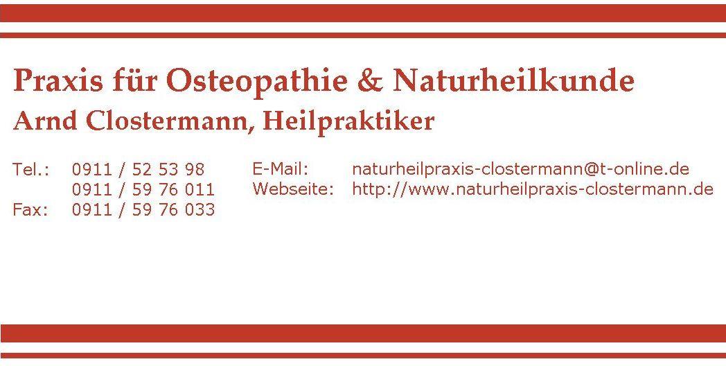 Osteopathie & Naturheilkunde Arnd Clostermann