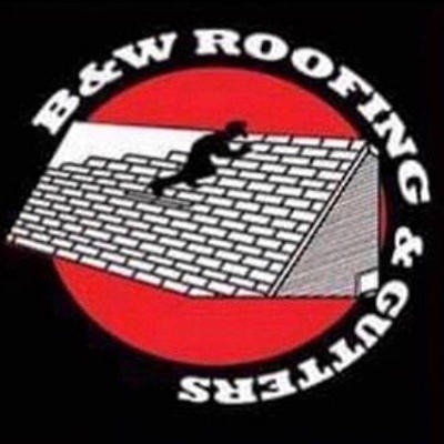 B & W Roofing and Gutters Logo