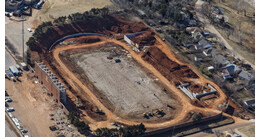Taft Stadium Demolition- Oklahoma City, Oklahoma