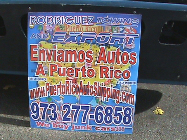 Puerto Rico Auto Shipping and Rodriguez Towing