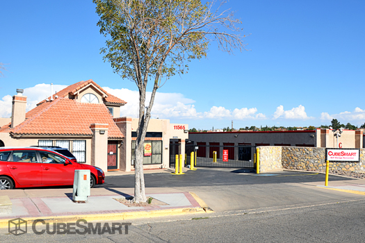 Cubesmart Self Storage In El Paso Tx 915 584 1784